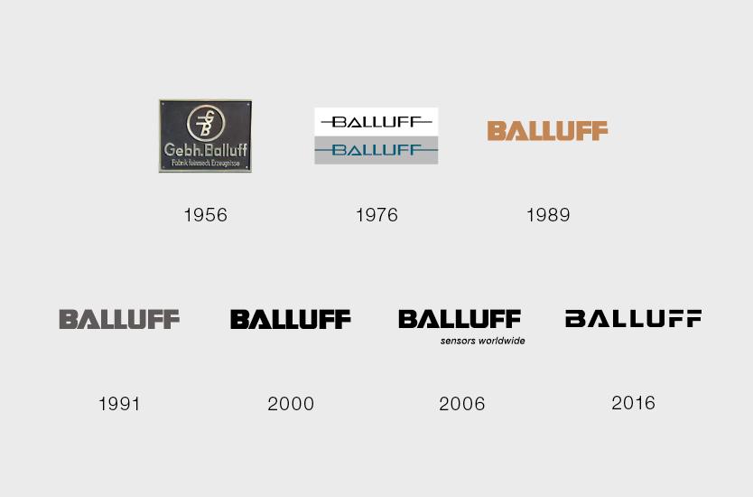 100 Jahre Balluff - Vom Namen zur Marke