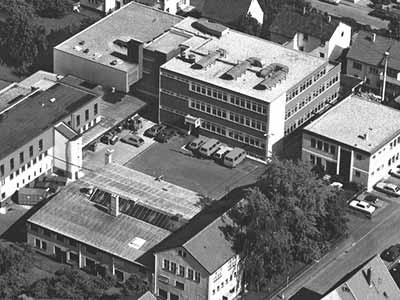 Newly built factory in Neuhausen