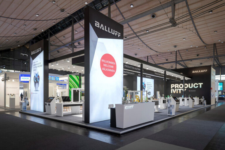 100 Jahre Balluff: Now and then Messe