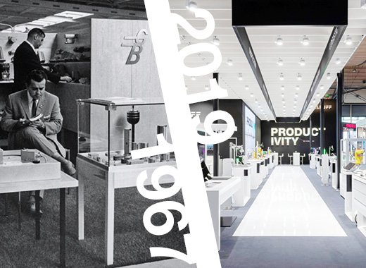 100 Years of Balluff: Now and then Trade fair