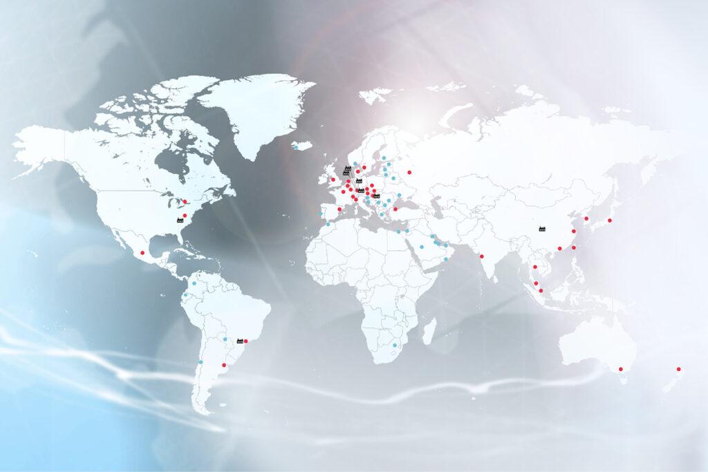 100 Jahre Balluff: Internationalisierung
