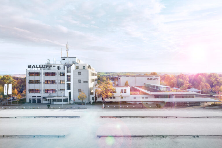 100 Jahre Balluff: Gebäudevergleich