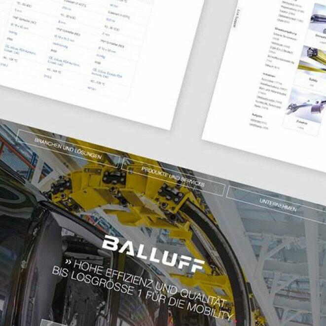 100 Jahre Balluff: Balluff stärkt online Kommunikation und Vertrieb